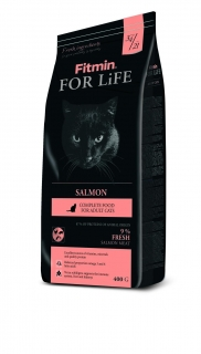 Fitmin Cat For Life losos 400g