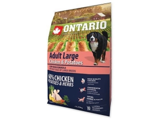 ONTARIO Adult Large Chicken & Potatoes 2.25kg