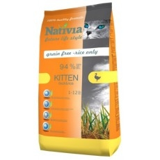Nativia Kitten Duck&Rice 1,5kg
