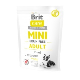 Brit care MINI dog grain-free Adult Lamb 400g